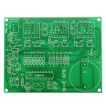 DIY Kit Module 9V-12V AT89C2051 6 Digital LED Electronic Clock Parts