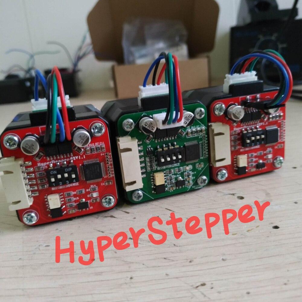 Closed-loop Stepper Motor Open Source Servo Stepper Mechaduino Updated Version HyperStepper