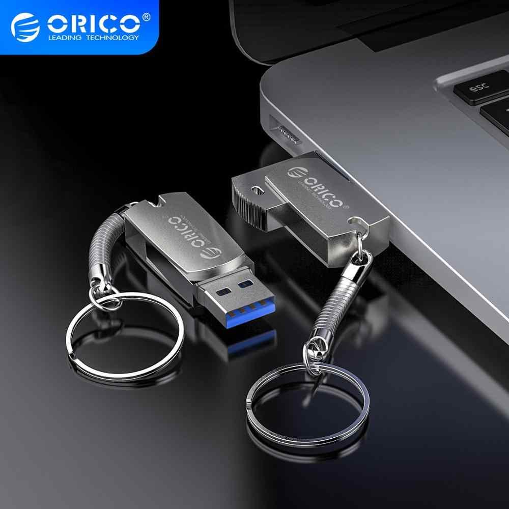 ORICO U Disk USB Flash sürücü 64GB 32GB 16GB 32GB 64GB için USB3.0 tip A arayüzü Flash Disk anahtarlık ile destek cep telefonu bilgisayar için