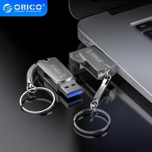 ORICO U Disk USB Flash Drive 64GB 32GB 16GB USB3.0 Type A Interface Flash Disk with Key Ring Support For Mobile Phone Computer(China)