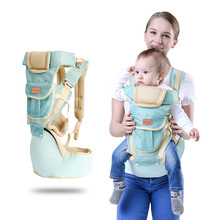 Ergonomic Baby Carrier Infant Kid Baby Hipseat Sling Front Facing Kangaroo Baby Wrap Carrier for Baby Travel 0-36 Months disney ergonomic baby carrier infant kid baby hipseat sling front facing kangaroo baby wrap carrier for baby travel 0 36 months