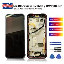 6,21-zoll 1080x2248 Dispaly Bildschirm Original Zerlegen Für Blackview BV9600 BV 9600 LCD Display Touchscreen Digitizer montage
