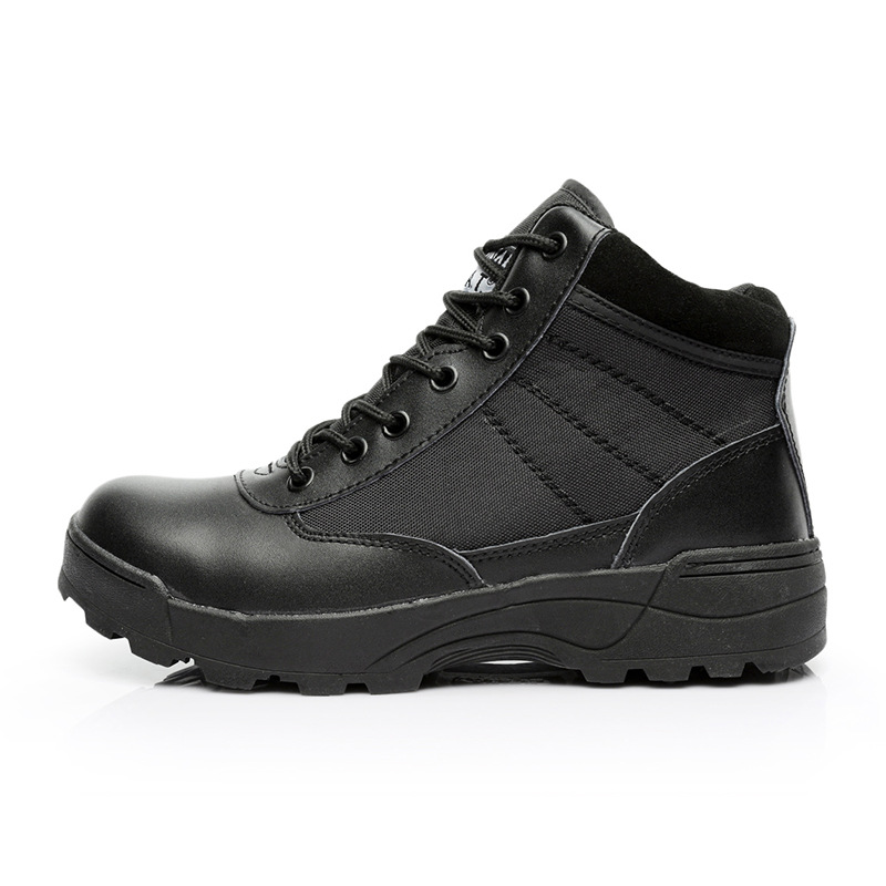 A Generation Of Fat Outdoor Low Top Tactical Boots Hiking Boots Desert Boots Army Fans Training Shoes Cross Border