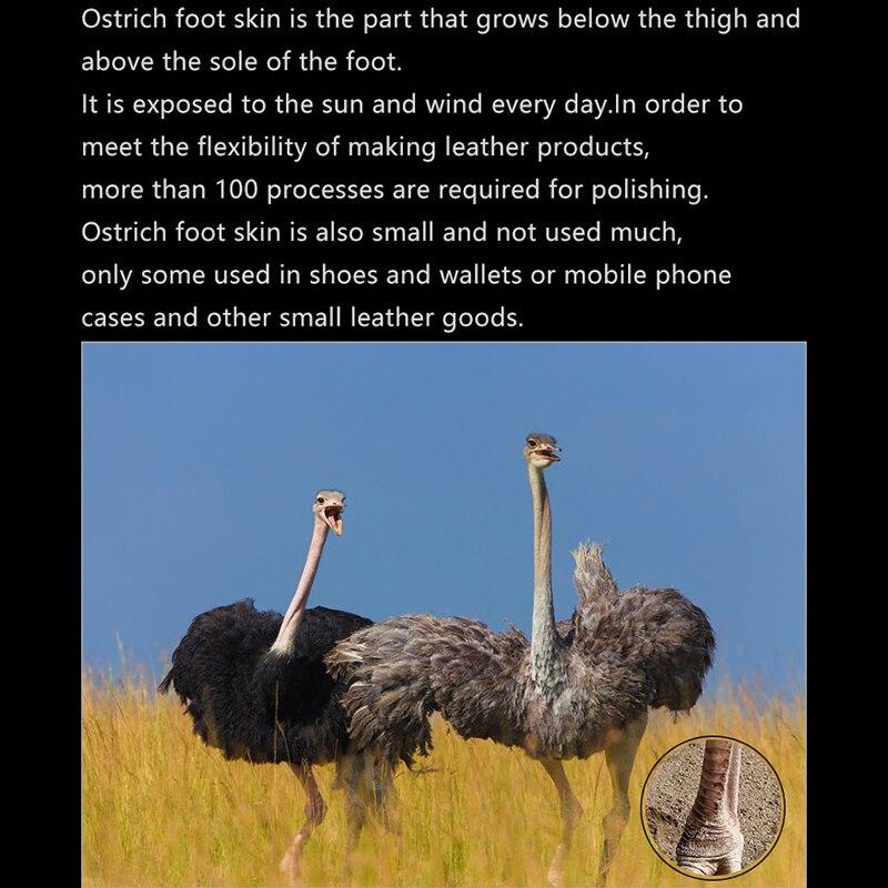 Чехол для телефона для huawei P20 P30 lite Коврики 10 20 Pro lite Y6 Y9 2018 P Smart 2019 натуральный страусовый кожи для Honor 7A 7X8X9 10 lite - 3