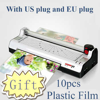 New Smart Photo Laminator A4 Trimmer Machine Sealed Plastic Laminating Machine Hot Cold Laminator plastificadora - DISCOUNT ITEM  16% OFF All Category