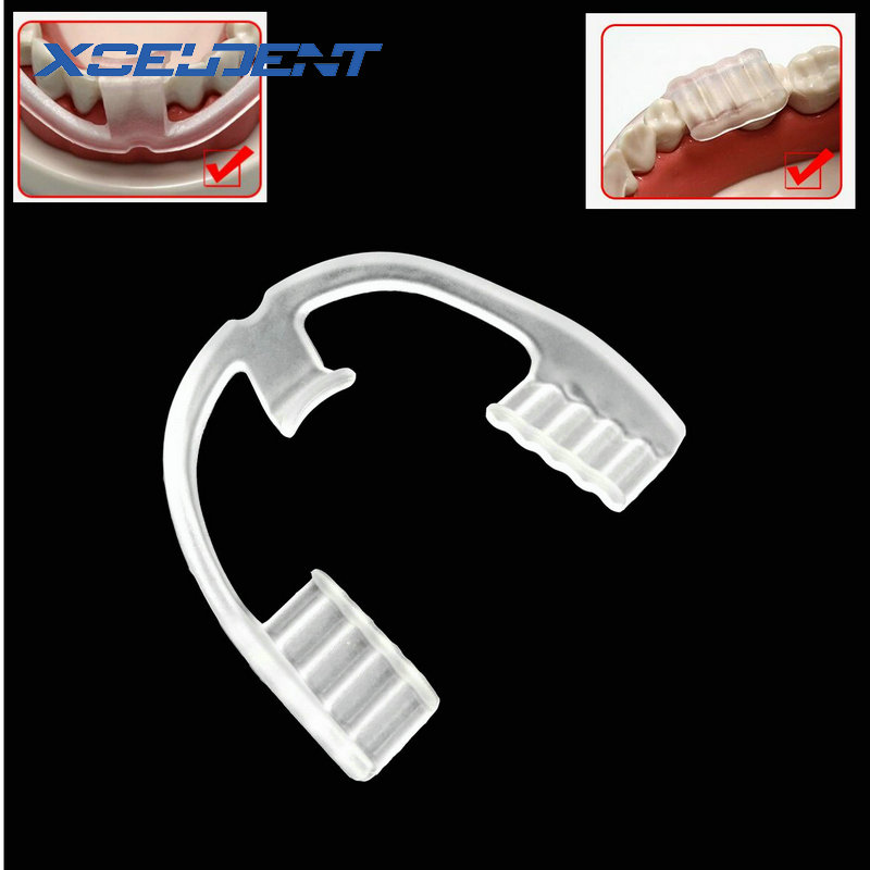 1pc Night Mouth Guard for Teeth Clenching Grinding Dental Bite Aid Silicone