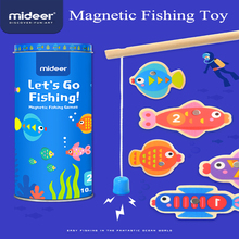 Mideer Children's Magnetic Fishing Toy Set Baby Puzzle Early Education Parent-child Interactive Board Game 2-3 Years Old