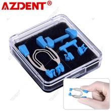 AZDENT Dental Matrix Sectional Contoured Metal Spring Clip Rings Dentist Tools Lab Dental Instrument
