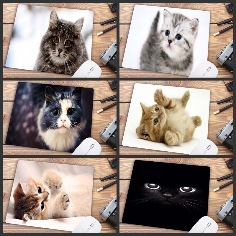 Mairuige  Mouse Pad Game Player Cute Cat Picture For Laptop PC Non-slip Mouse Pad Universal Comfort Mouse Crazy Mouse Computer