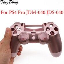 Housing-Shell Dualshock Faceplate V2-Controller 4-Playstation Back-Case JDM-040 Soft