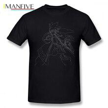 Horokeu Usui T Shirt Shaman King T-shirt 100 Cotton Tshirt 12 color Tee