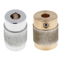 New 1 Pcs 3/4 Inch Stained Glass Grinder Head Bit Glass Grinding Wheel for Glass Grinder