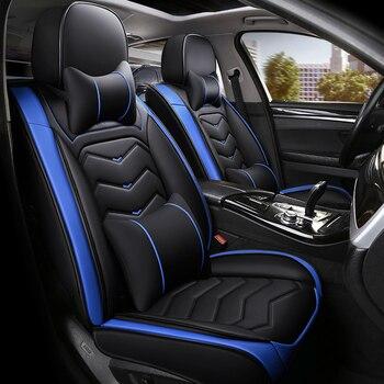 LCRTDS Car Seat Cover for chevrolet blazer caprice captiva cobalt colorado cruze epica equinox of 2018 2017 2016 2015