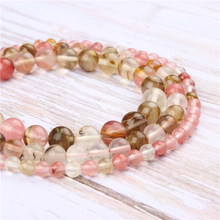 Wholesale Color watermelon Natural Stone Beads Round Beads Loose Beads For Making Diy Bracelet Necklace 4/6/8/10/12MM