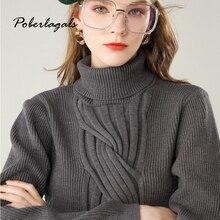Осень кашемир плюс бархат толстые женские зимние свитера пуловеры корейская трикотажная кофта мягкие шерстяные свитера женские пуловеры