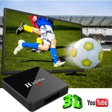 H10 PLAY 6K H.265 Media Player H603 Quad-core 2.4G/5G Double Wifi tv box 4G+32G Android 9.0 Smart TV Bluetooth Set Top Box
