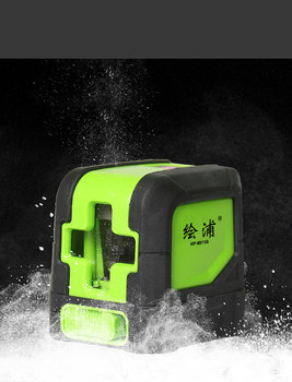 Green Outdoor Portable Infrared 2-Line LD Line Projector Waterproof IP54 for Laser Level Instrument
