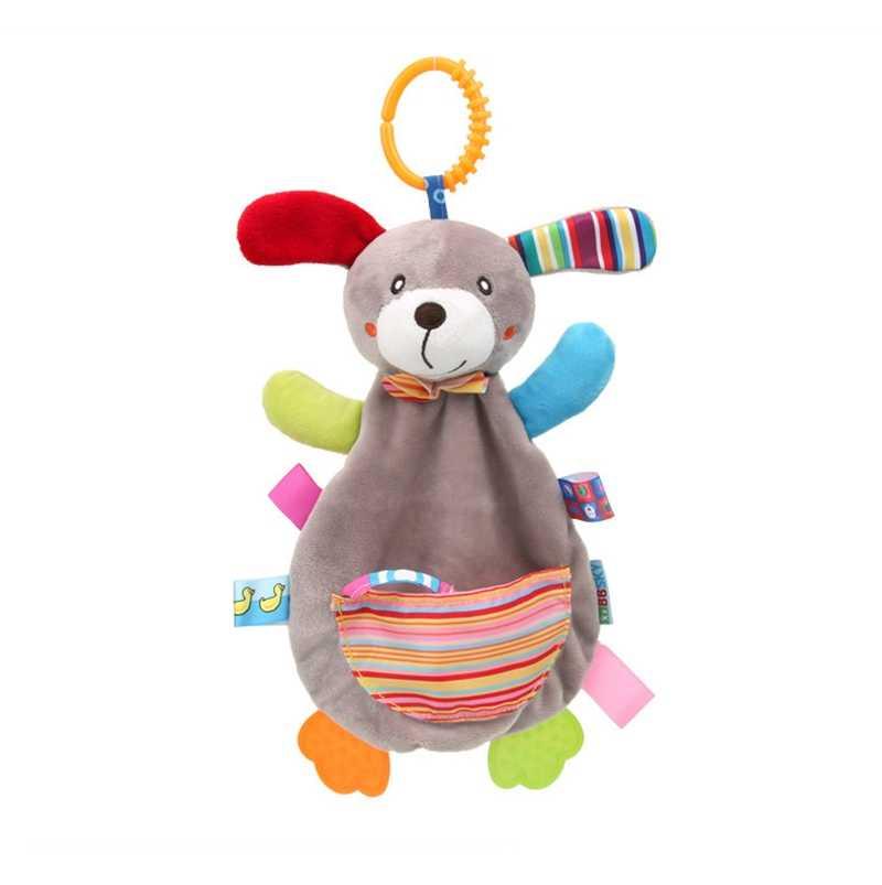 เด็กทารก Rattles มือถือเตียงกระต่ายนุ่มตุ๊กตาของเล่นตุ๊กตาสัตว์ตุ๊กตาของเล่นเด็ก 0-12 เดือนรถเข็นเด็กการศึกษาเด็กของเล่นเด็ก