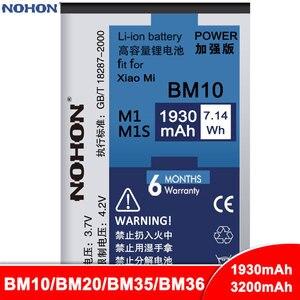 NOHON Battery BM10 BM20 BM35 BM36 For Xiaomi Mi 1 1S 2 2S 4C 5S Mi1 Mi1S Mi2 Mi2S Mi4C Mi5S Bateria Phone Replacement Batteries(China)