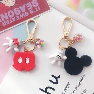 Creative cute rabbit schoolbag pendant cartoon doll key chain pendant ins plush doll car key chain ring