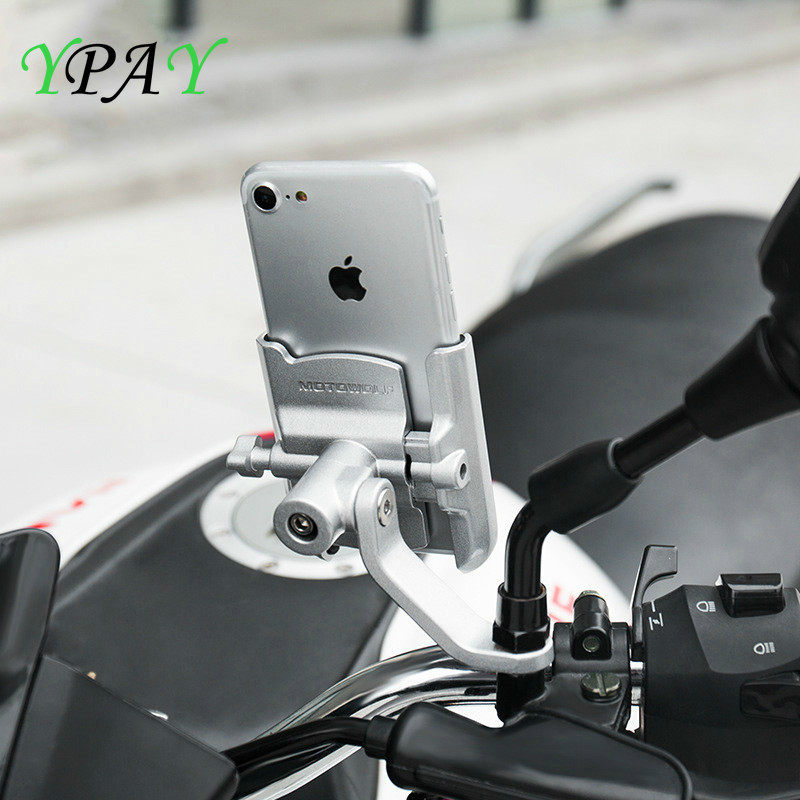 Handlebar Holder Charger Motorcycle