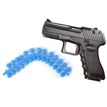 Children's Toy Gun Desert Eagle Mini Pistol Capable of Firing Soft Bullet Model Military Model Sniper Rifle Alloy Gun