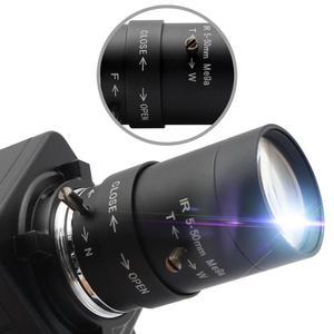 Image 3 - Высокоскоростная USB камера 1080P HD MJPEG 60fps/120fps/260fps UVC с датчиком OmniVision OV4689 CMOS USB PC веб камера с варифокальным объективом CS