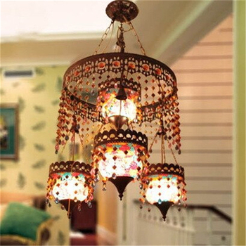 Glass Chandelier Stair Lamp Hotel Lamp Bar Lamp Living Room Light Free Shipping Modern Dining Room Bohemia Home LED Bulbs Iron postmodern curve style living room lamp dining room light bedroom lamp led light free shipping led bulbs cord pendant metal iron