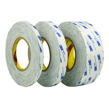 3M Strong Sticky Double Sided Adhesive Tape 5mm 8mm 12mm 15mm 20mm 30mm 50m Length for LCD LED Display Fix phone Screen