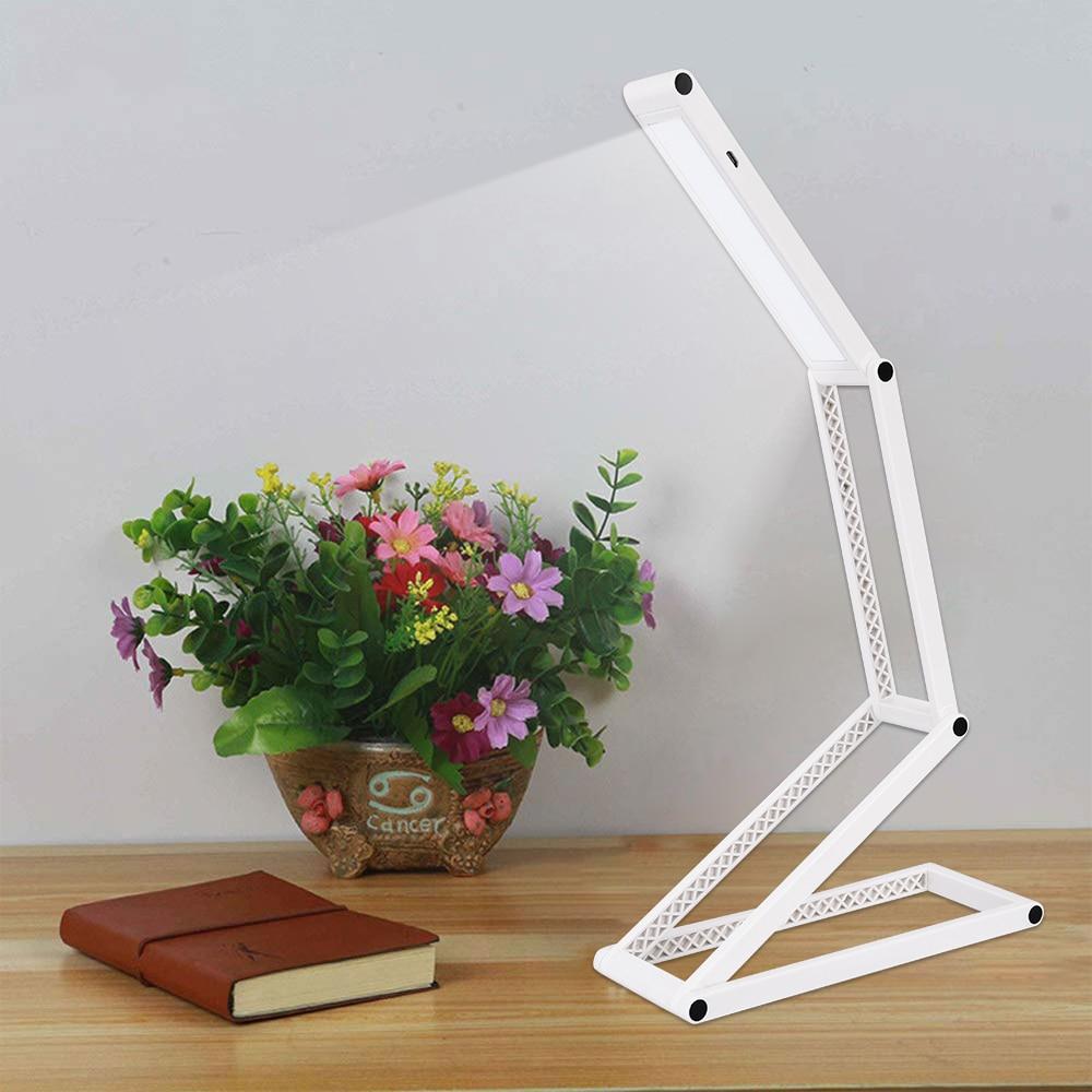 2019 New Flexible USB Led Desk Lamps For Reading Folding USB Table Lamps For Living Room Bedroom Contemporary Desktops Light