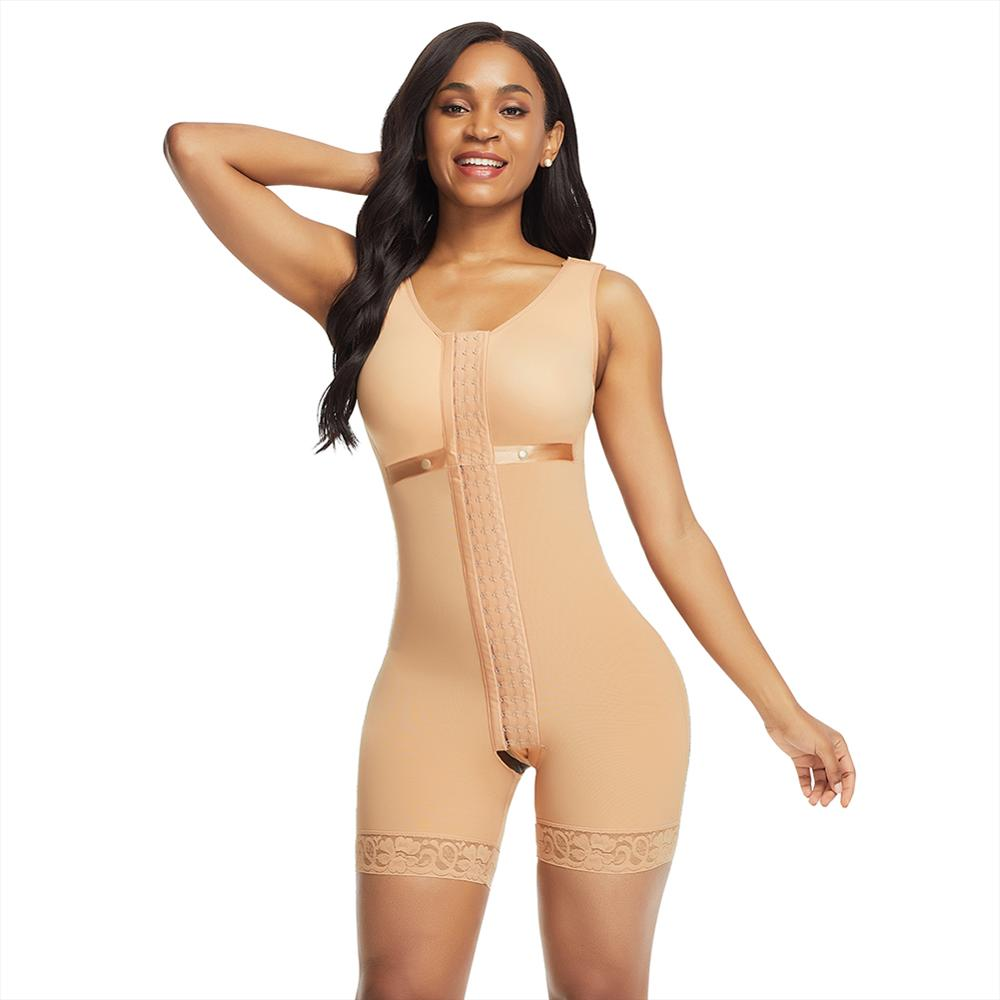 Body Shaping Bodysuit Slimming Shapewear Sleeveless Stretchy Shaper Women Belly Modeling