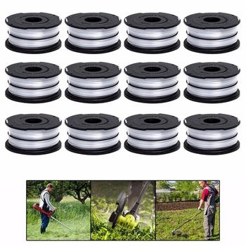 line string trimmer replacement spool 30ft 0 065inch replacement spool for black decker Lawn Mower Replacement Kits Grass String Trimmer Spool Line Cap Cover with Spring Auto Feed Work with DF-065