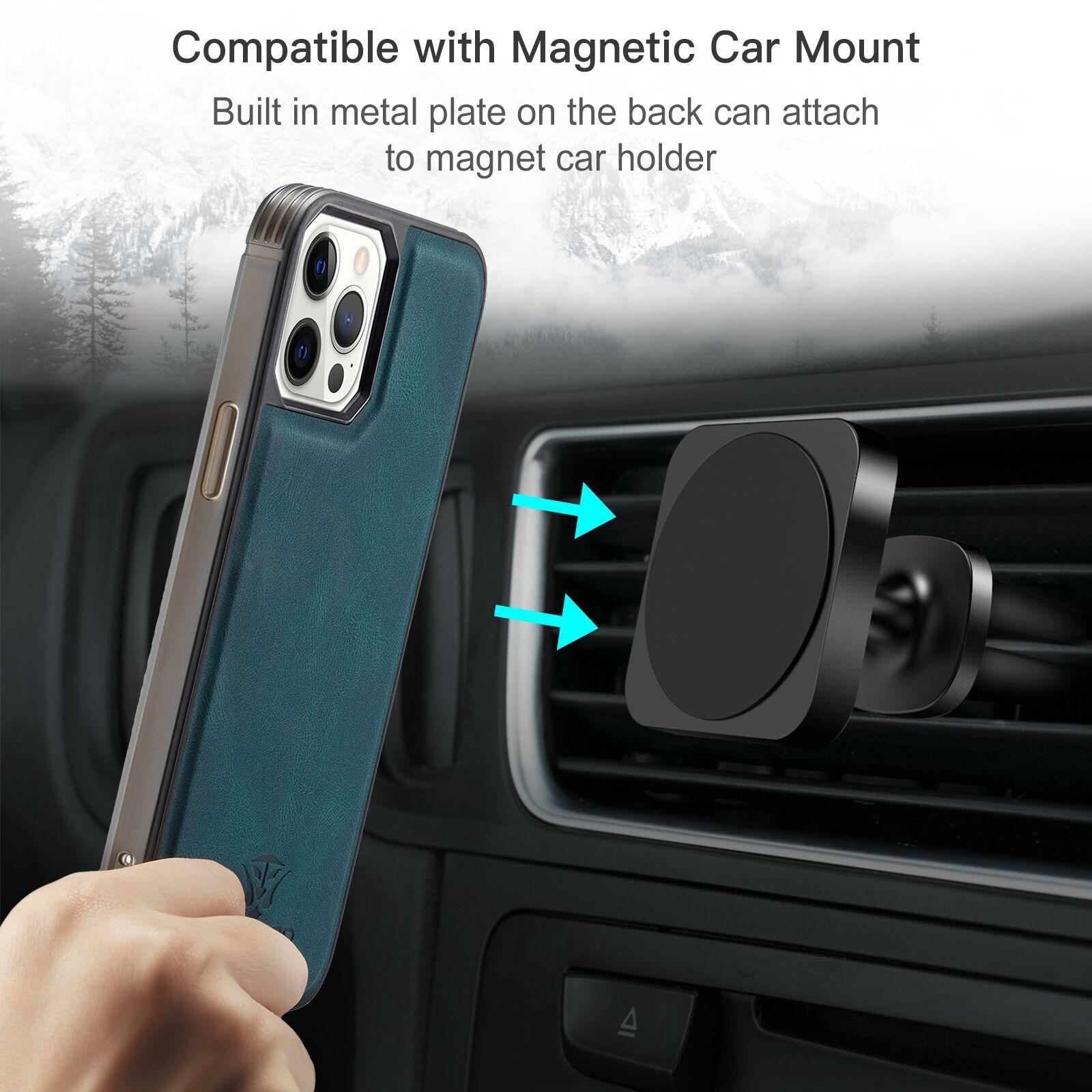 H2fe87820e2554e65bbcd3a7ea0db827dK Capinha case Capa traseira para o iphone 12 11 pro max xs xr x se 2020 8 7 plus caso do telefone com suporte de cartão de couro magnético destacável carteira saco