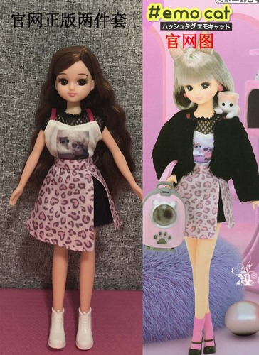 1/6 clothes For Dolls For Licca doll Momoko Doll Blyth doll clothes Jumpsuit dress suit For Girls Dolls 11