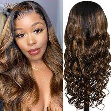 Парик из натуральных волос Nadula 13x4 # FB30, парик из волнистых волос 13x5x1, парик из натуральных волос для женщин, парик из прямых волос с кружевом с...