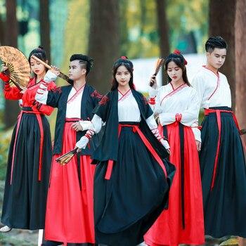 Traje de princesa de la Dinastía Han tradicional china antiguo espadachín Cosplay Lady Hanfu ropa Tang Dynasty Oriental disfraces