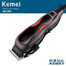 Kemei profesyonel saç düzeltici elektrikli saç kesme saç şekillendirici aracı ayarlanabilir Limit tarak güçlü saç tıraş makinesi D40