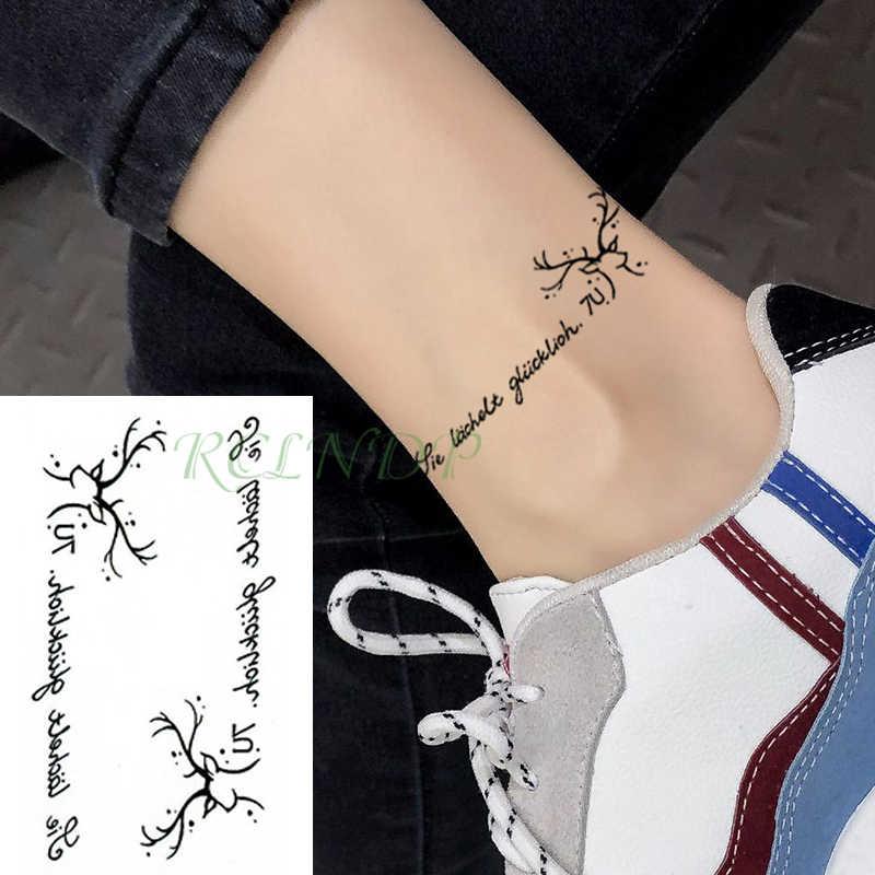Impermeable A L Eau Temporaire Tatouage Autocollant Bois Mots Lettre Phrase Tatto Autocollants Flash Tatoo Faux Tatouages Pour Enfant Hommes Femmes Aliexpress