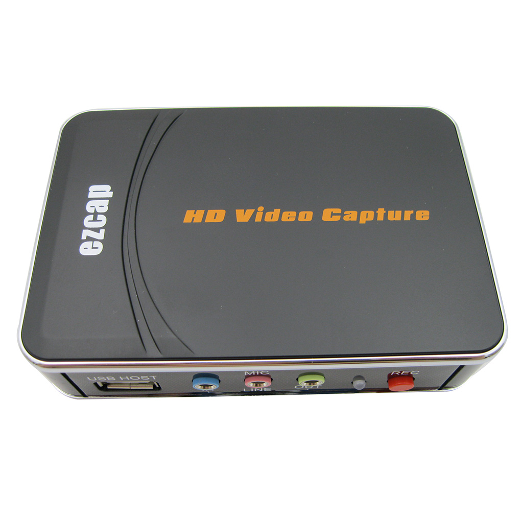 HD Game Capture Card HD Video Capture 1080P HDMI/YPBPR Video Recorder For Xbox 360 Xbox One/ PS3 PS4 No Any Set-up EU Plug