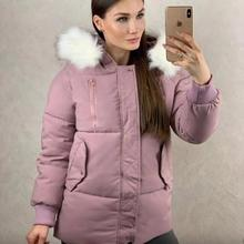 Women Fashion Wool Hooded Cotton Coat Pocket Casual Pure Color Warm Jacket Women Winter New все цены