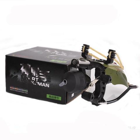 laser ao ar livre slingshot com carretel