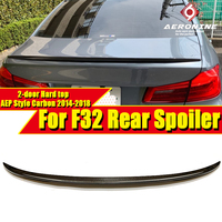 F32 Carbon Fiber Rear Trunk Boot Spoiler Wing P Style For BMW 4 Series F32 420i 428i 430i 435i 440i 2-Door Hard top Wings 14-18