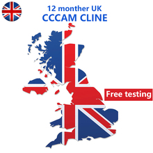 UK Europe CCCAM For DVB-S2 Receptor Cccam cline 7 /10lines 1 year tv Receiver 4/8lines WIFI FULL HD Support Ccams Free testing