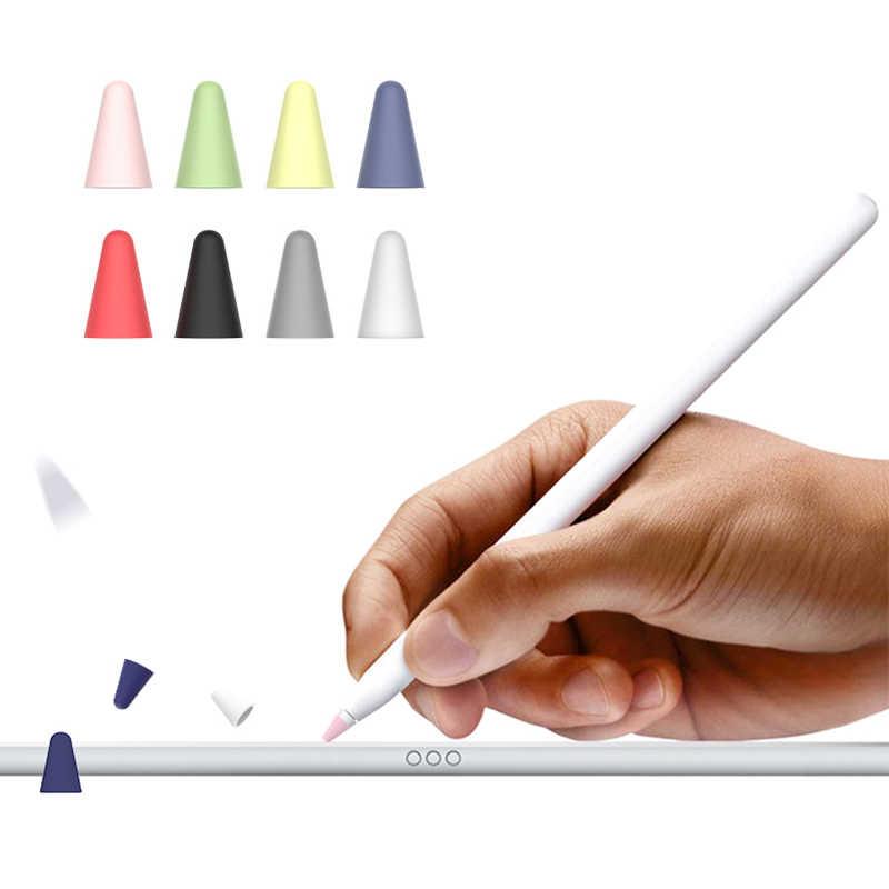 8 Chiếc Bút Chì Cho Apple Đầu Bút Bảo Bảo 1 2 Thế Hệ Đa Năng Silicone Bảo Vệ iPad Nắp Phụ Kiện Thông Minh