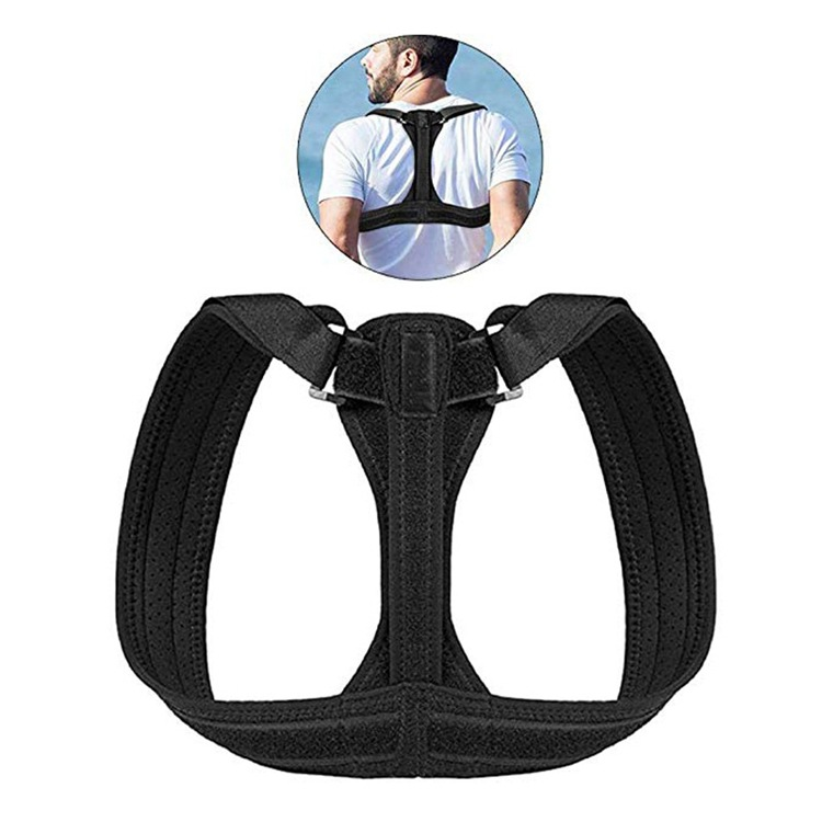 Back Clavicle Orthotics Band Men And Women Anti Humpback Posture Correction With Sitting Position Rectifier Jzd-041