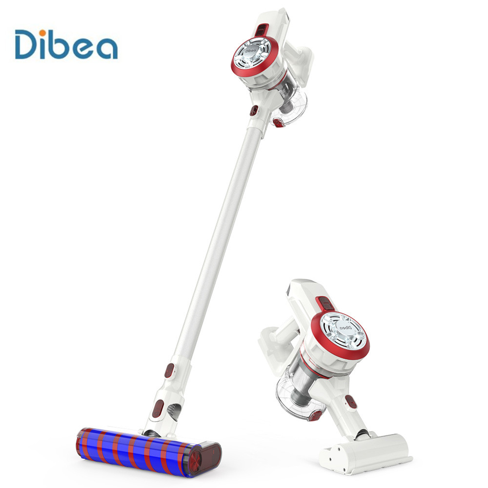 Dibea V008 Pro 2-In-1 Handheld Cordless Vacuum Cleaner 250W 17000Pa Strong Suction Vacuum Dust Collector Aspirator EU Plug