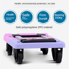 Trolley-Cart with Stretchable Expansion-Base Bungee-Cord Fold-Up Dolly for Moving/office
