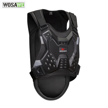 WOSAWE Motorcycle Armor chest back protector Motocross Body Armor guard Racing Body Protector protective Gear MOTO Adult  Jacket wosawe motorcycle jacket motocross body armor chest back moto protective gear shorts pants knee protector gloves guard knee pads