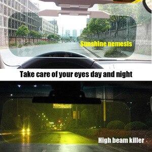 Image 3 - Auto Visiera Blocco di Protezione Della Luce di Giorno E di Notte a Doppio Uso Della Visiera di Sun Regolabile Pratica VS998