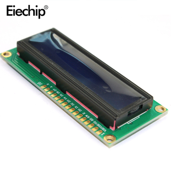 LCD1602 1602 Display Module 3.3V LCD 1602 Blue Screen Character LCD Display Module Blue Blacklight For Arduino LCD Display blacklight blue